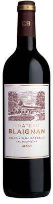 Вино красное сухое «Chateau Blaignan Medoc» 2008 г.