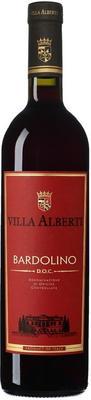 Вино красное сухое «Villa Alberti Bardolino» 2013 г.