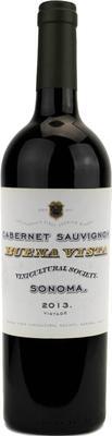 Вино красное сухое «Buena Vista Sonoma Cabernet Sauvignon» 2013 г. с защищенным географическим указанием