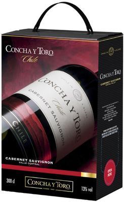 Вино красное полусухое «Concha y Toro Frontera Cabernet Sauvignon»