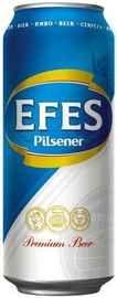 Пиво «Efes Pilsener» в жестяной банке