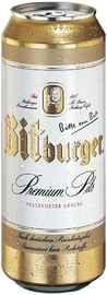 Пиво «Bitburger Premium Pils» в жестяной банке