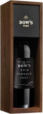 Портвейн «Dow's Vintage Port» 2012 г. в подарочной упаковке