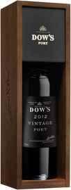 Портвейн «Dow's Vintage Port, 3 л» 2012 г. в подарочной упаковке