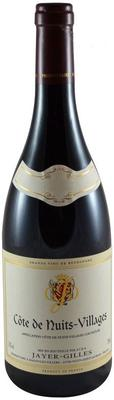 Вино красное сухое «Jayer-Gilles Cote de Nuits-Villages» 2010 г. с защищенным географическим указанием