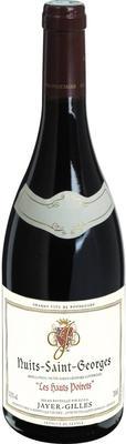 Вино красное сухое «Jayer-Gilles Nuits-Saint-Georges Les Hauts Poirets» 2011 г. с защищенным географическим указанием