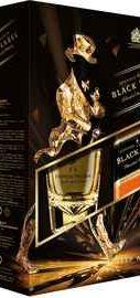 Виски «Johnnie Walker Black Label» в подарочной упаковке со стаканом