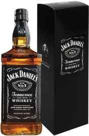 Виски «Jack Daniels» в подарочной упаковке