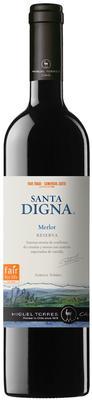 Вино красное сухое «Santa Digna Merlot» 2011 г.