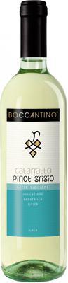Вино белое сухое  «Boccantino Catarratto Pinot Grigio Terre Siciliane» 2015 г.
