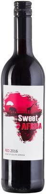 Вино красное полусладкое «Sweet Africa Red» 2016 г.