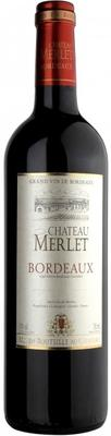 Вино красное сухое «Chateau Merlet Bordeaux» 2011 г.