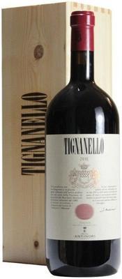 Вино красное сухое «Tignanello Toscana» 2012 г. в подарочной деревянной упаковке