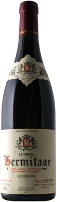Вино красное сухое «Marc Sorrel Hermitage Le Greal» 2014 г.