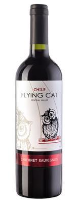 Вино красное сухое «Flying Cat Cabernet Sauvignon» 2015 г.