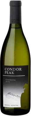 Вино белое полусухое «Condor Peak Chardonnay» 2016 г.
