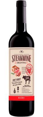 Вино красное полусухое «Steakwine Malbec»