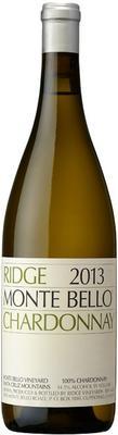 Вино белое сухое «Ridge Monte Bello Chardonnay» 2013 г.