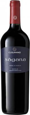Вино красное сухое «Sagana Sicilia» 2012 г.