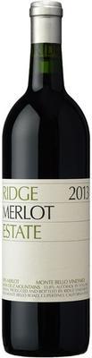 Вино красное сухое «Ridge Estate Merlot» 2013 г.