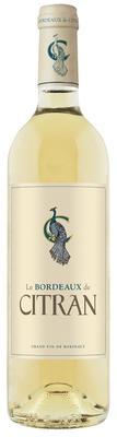 Вино белое сухое «Le Bordeaux de Citran Blanc» 2015 г.