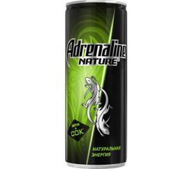 Энергетический напиток «Adrenaline Rush Nature, 0.25 л»