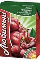 Сок «Любимый яблоко вишня черешня и черноплодная рябина»
