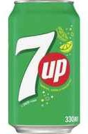 Газированный напиток «7-UP» в жестяной банке