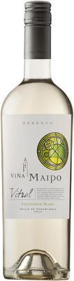 Вино белое сухое «Vina Maipo Vitral Sauvignon Blanc Reserva» 2016 г.