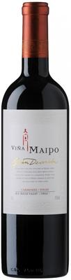 Вино красное сухое «Vina Maipo Gran Devocion Carmenere/Syrah» 2013 г.