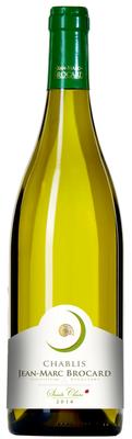Вино белое сухое  «Jean-Marc Brocard Chablis Sainte-Claire, 0.375 л» 2015 г.