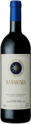 Вино красное сухое «Sassicaia, 0.75 л» 2013 г.