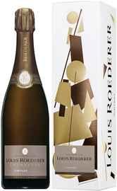 Шампанское белое брют «Louis Roederer Brut Vintage Grafica» 2009 г. в подарочной упаковке