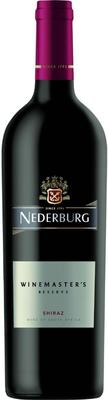 Вино красное сухое «Nederburg Winemaster's Reserve Shiraz» 2014 г.