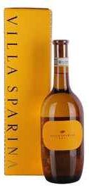 Вино белое сухое «Gavi Villa Sparina» 2015 г. в подарочной упаковке