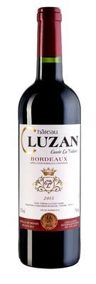 Вино красное сухое «Chateau Cluzan Bordeaux» 2015 г.