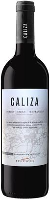 Вино красное сухое «Caliza La Mancha» 2015 г.