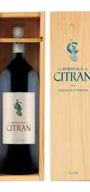 Вино красное сухое «Le Bordeaux de Citran Rouge» 2009 г. в подарочной упаковке