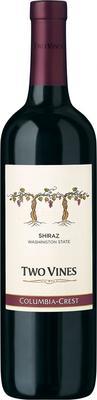 Вино красное полусухое «Two Vines Shiraz» 2012 г.