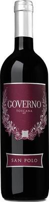 Вино красное полусухое «Governo Toscana» 2014 г.