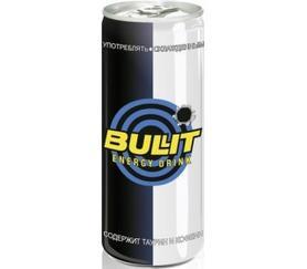 Энергетический напиток «Буллит, 0.25 л»