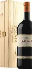 Вино красное сухое «Solaia Toscana» 2012 г. в подарочной деревянной упаковке