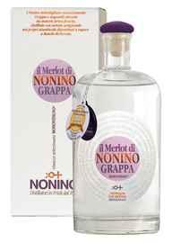 Граппа «Monovitigno Il Merlot di Nonino» в подарочной упаковке