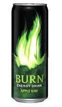 Энергетический напиток «Burn Apple Kiwi»