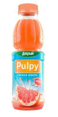 Сок «Pulpy Грейпфрут, 0.5 л»
