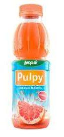 Сок «Pulpy Грейпфрут, 0.45 л»