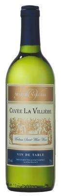 Вино белое полусладкое  «Cuvee La Villiere»