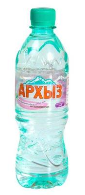 Вода минеральная негазированная «Архыз, 1.5 л»