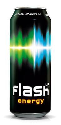 Энергетический напиток «Flash Up» в жестяной банке
