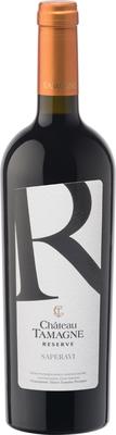 Вино красное сухое «Шато Тамань Резерв Саперави»
